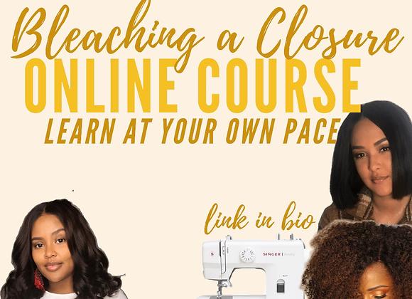 Mini Course: How to Bleach a Closure