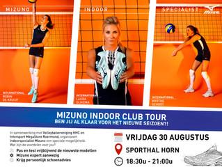 MIZUNO indoor club tour - Intersport SuperStore Roermond