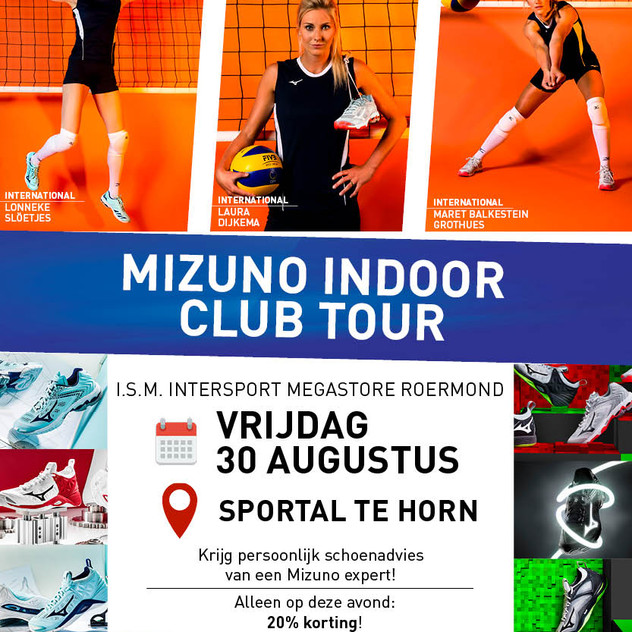 Aankondiging - Indoor Club Tour Volleyba