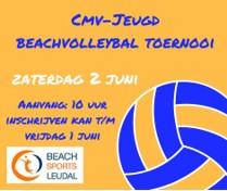 Beachtoernooi in Horn op 2 juni