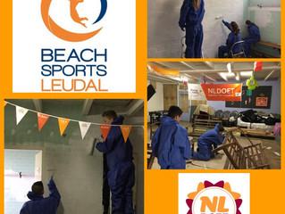 NL DOET bij Beach Sports Leudal