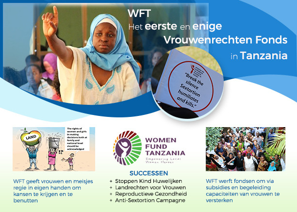 Second Best steunt het Women Fund Tanzania.