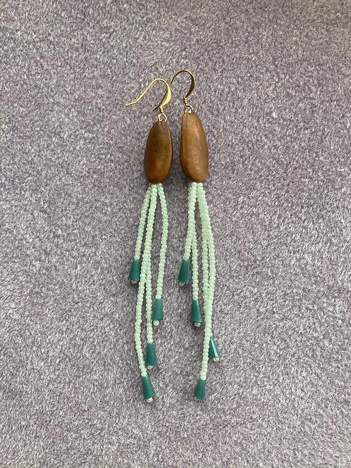 Green Pine Nut Chandelier