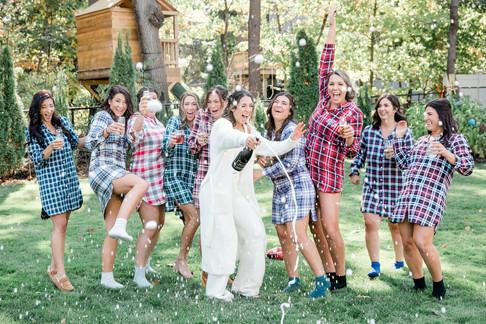 Backyard Wedding in New Hampshire