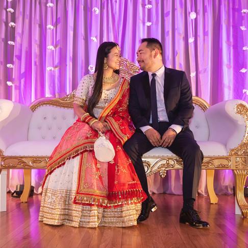 Featured Weddings: Rati and Ipsit's Himalayan Wedding