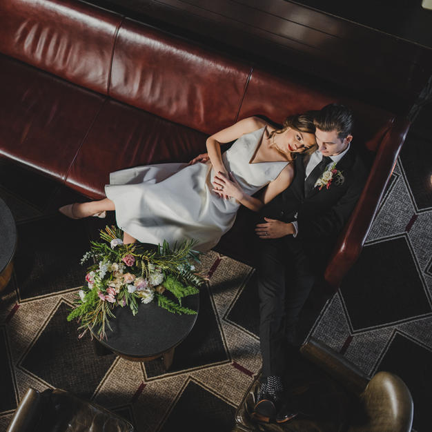 Featured on Bustld: Intimate, Snowy Elopement in Boston
