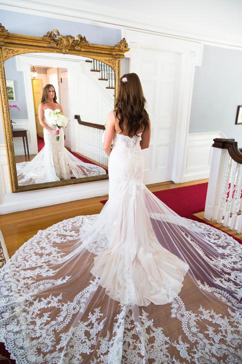 Bride at Pierce House