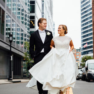 Wedding Chicks Feature: Traditional Modern Wedding in Boston