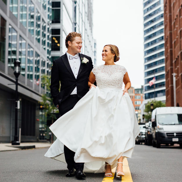 Wedding Chicks Feature: Traditional Modern Wedding in Boston