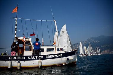 Partenza regata circolo nautico brenzone