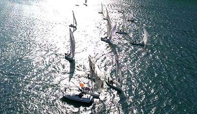 partenza regata lago di garda