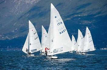 Star barca a vela poppa regata lago di garda brenzone