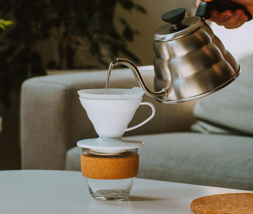 Préparer votre café avec la Hario V60