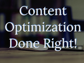 Content Optimization Done Right: How To Create High-Quality Content That Search Engines Will Love