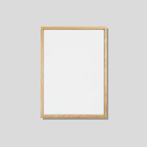 Bilderrahmen A4 Holz/Glas