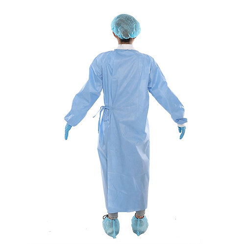 Non Woven Sterile Disposable Surgical Isolation Gown