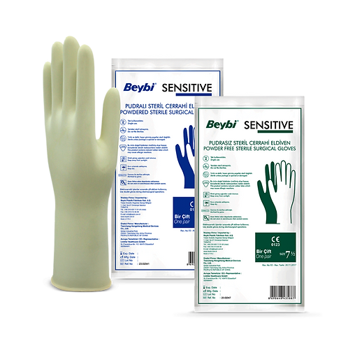 Sensitive Surgical Gloves - Powdered & Powder Free