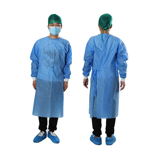 Disposable SMS Surgical Gown blue