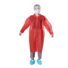 Lab Coat 6001 Disposable - Collar Velcro