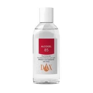 DAX Alcogel 85% 75ml 32 kr/st, säljs i kartong med 24 flaskor