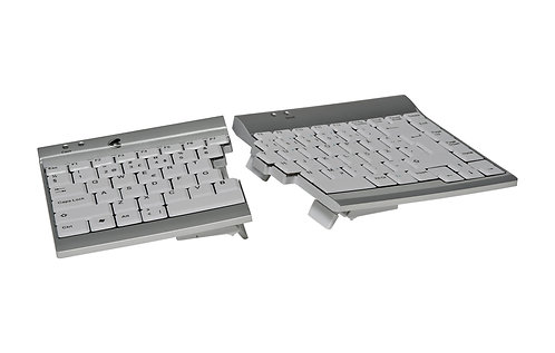 Two part keyboard