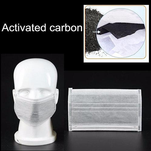 MUNSKYDD I 4-LAGER från 13,14 kr/st Carbon Aktiv