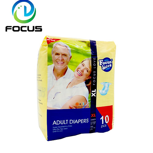 Adult Dipers 10-pack Inkontinens skydd