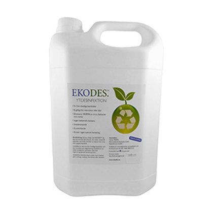 Ekodes Hand & YT desinfektion Art :D4014 5*5000ml Refill dunk