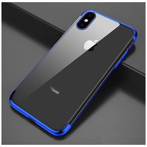 Electroplated TPU Case iPhone X +2st skärmskydd Referens  37656744