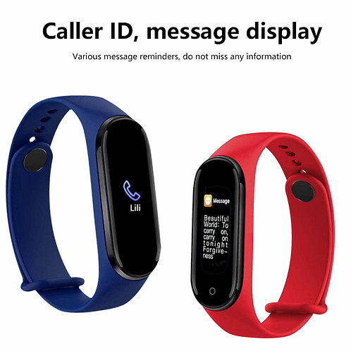 Smart Watch Bracelet M5 Mi Band 5 Fitness Tracker PK Pris 279 kr/ st
