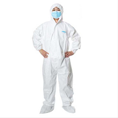 Coverall With Hood 8002 Disposable