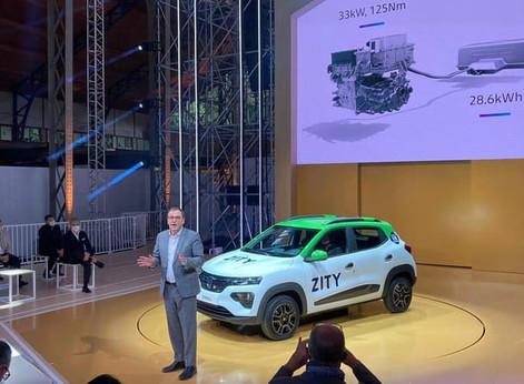 La première DACIA 100% électrique La SPRING, sera commercialisée début 2021