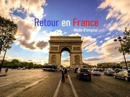 Mise à jour des dernières mesures pour voyager en France