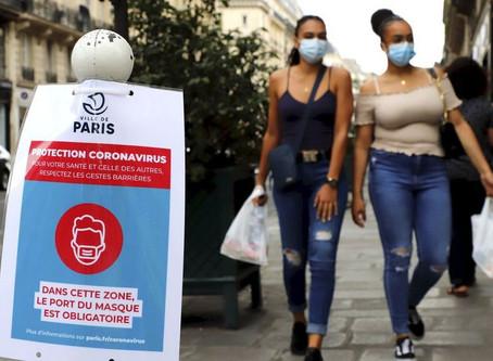 Le port du masque devient obligatoire dans tout Paris