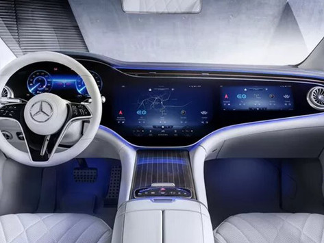 Découvrez les premiers visuels de la Mercedes EQS