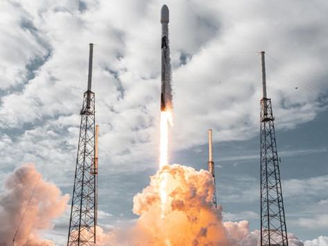 Space X envoie un nombre record de satellites dans l'espace
