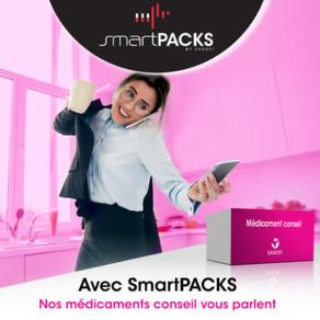 Smart Packs : scannez vos médicaments, plus qu'une application, une vraie solution