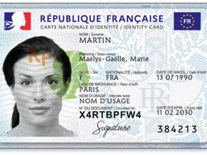 France: nouvelle carte d'identité nationale dès ce lundi 2 août
