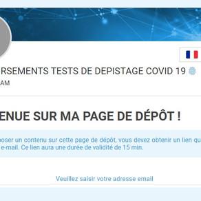 Obtenir le remboursement d'un test Covid facturé en France ?
