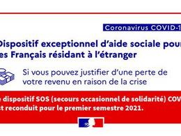 Aide spéciale Covid-19 : reconduite en 2021
