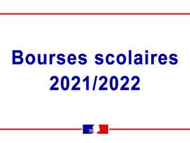 Bourses scolaires 2021-2022, c'est parti !