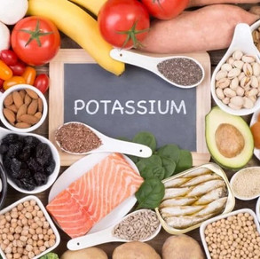 Potassium: important pour l'équilibre
