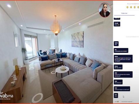 Technologie: Mubawab lance la visite virtuelle des biens immobilier
