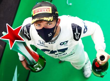 Formule 1: victoire historique du Français Pierre Gasly