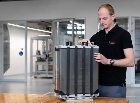 Véhicules à hydrogène : Bosch va produire des piles en masse