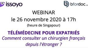 Télémédecine pour expatriés : comment consulter un chirurgien français depuis l'étranger ?