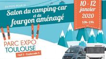 Salon 2020 du Camping-Car et du  fourgon aménagé de Toulouse