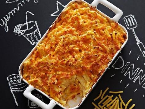 Mac and cheese au cheddar