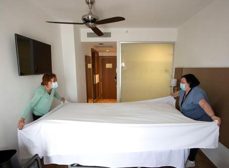 Ces hôtels qui transforment les chambres en bureaux