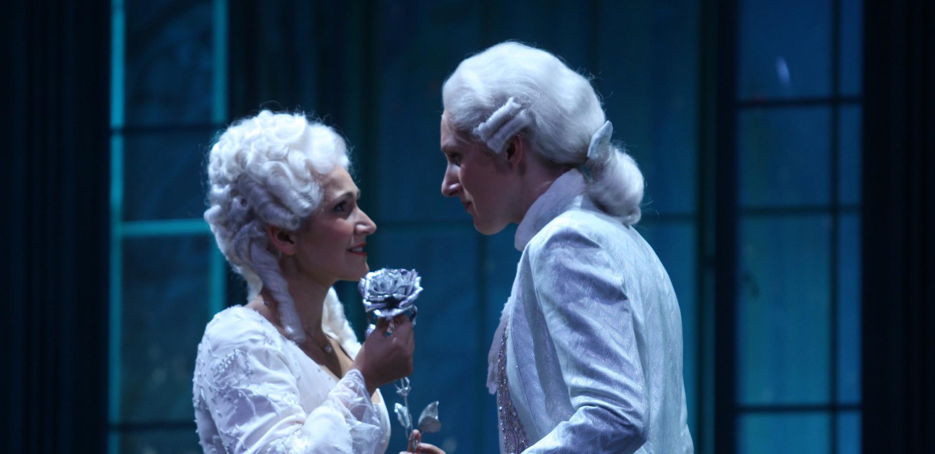Der Rosenkavalier, Theater Vorpommern  (Sophie: Eva Resch, Octavian: Wiebke Damboldt)